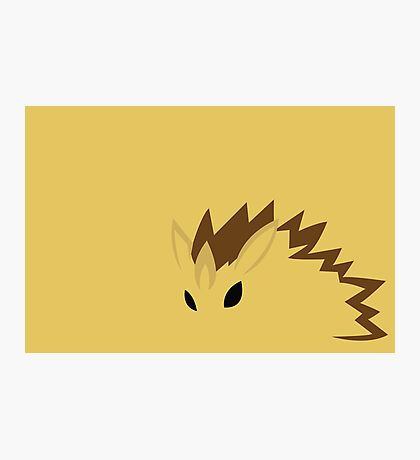 Sandslash Photographic Print