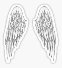 Angel Wings T-Shirt Sticker