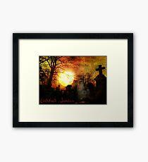 Celebrate Samhain Framed Print