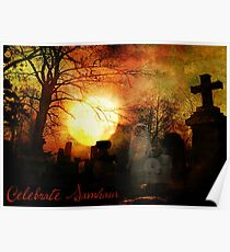 Celebrate Samhain Poster