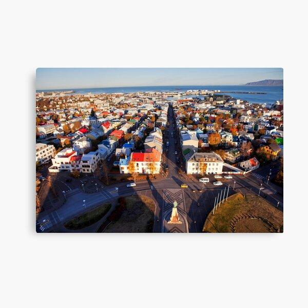 Reykjavík Canvas Print