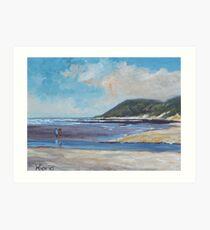 Landscape in Eastern Cape Art Print