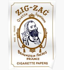 Zig Zag Papers Poster