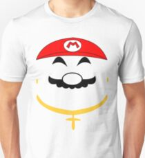 Super Gangster Mario Unisex T-Shirt