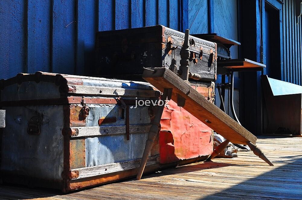 Old Trunk by joevoz
