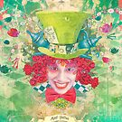 Mad Hatter - iPhone Case by AngiandSilas