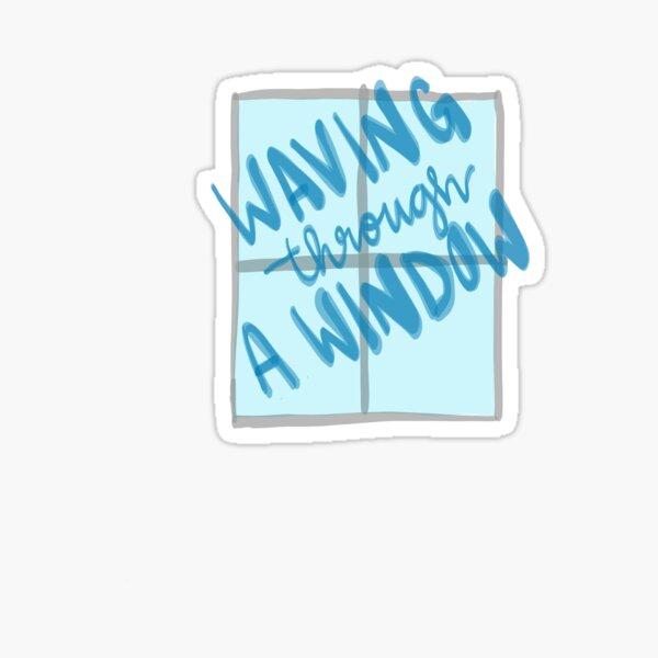 Dear Evan Hansen; Waving Through a Window Sticker