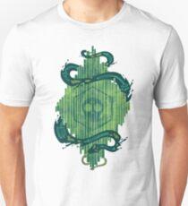 Camiseta unisex El verde es el color de la muerte