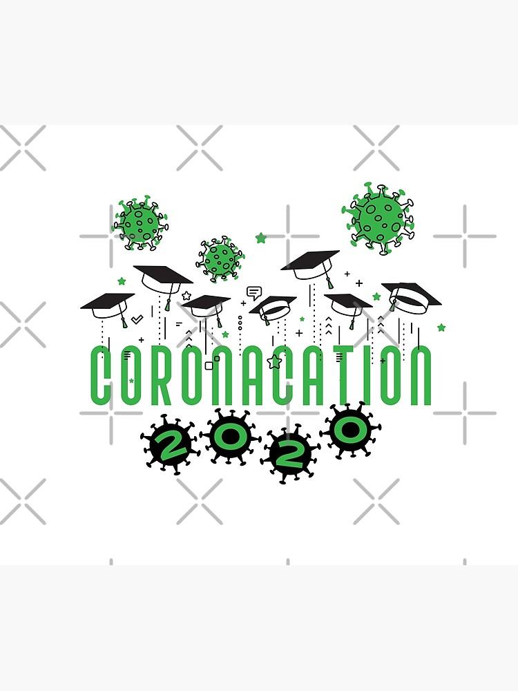 Coronacation Graduation 2020 green by GentlemanJoan