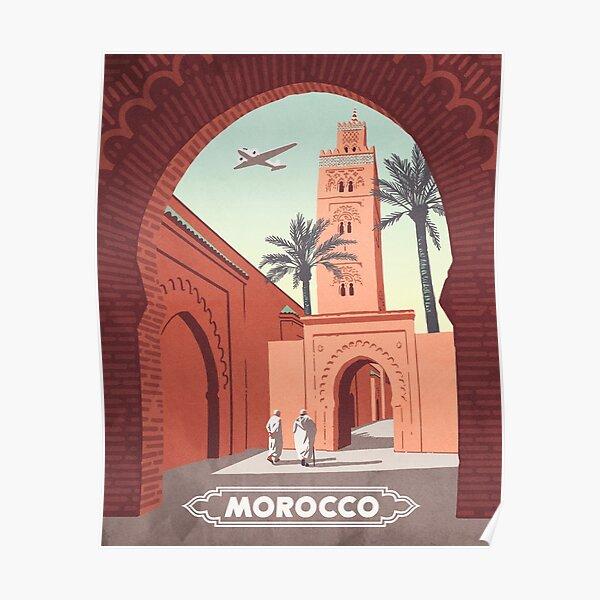 Maroc Poster