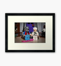 Teen Wolf Marty! Framed Print