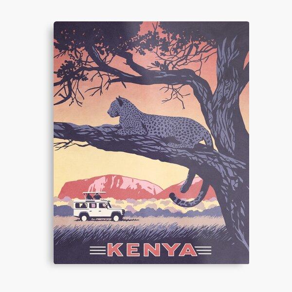 Kenya Metal Print