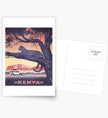 Kenia Postkarten