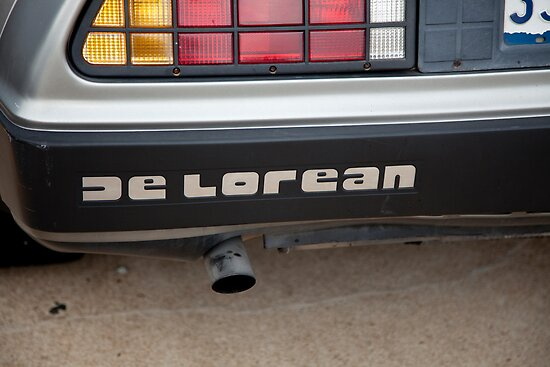 De Lorean nameplate by bleriger