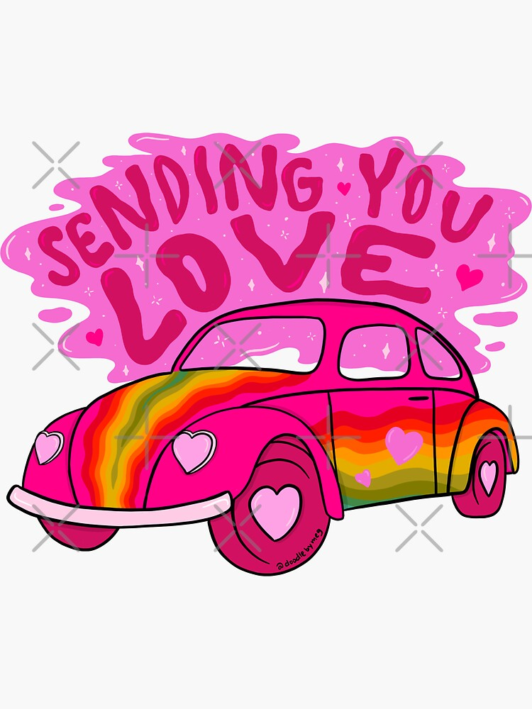 Sending You Love by doodlebymeg