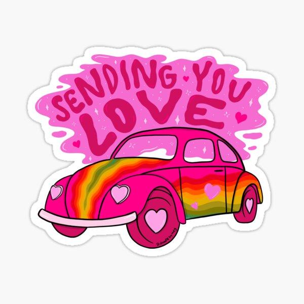 Sending You Love Sticker
