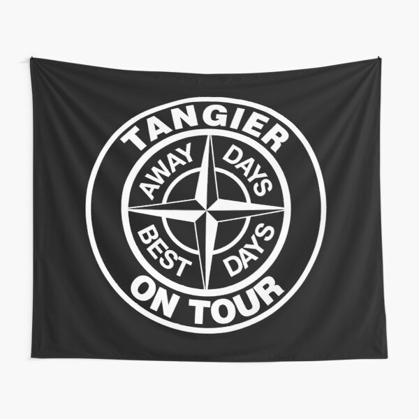 Tangier on Tour, Away days are The Best days Tapestry