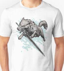 Der Schwertwolf Slim Fit T-Shirt