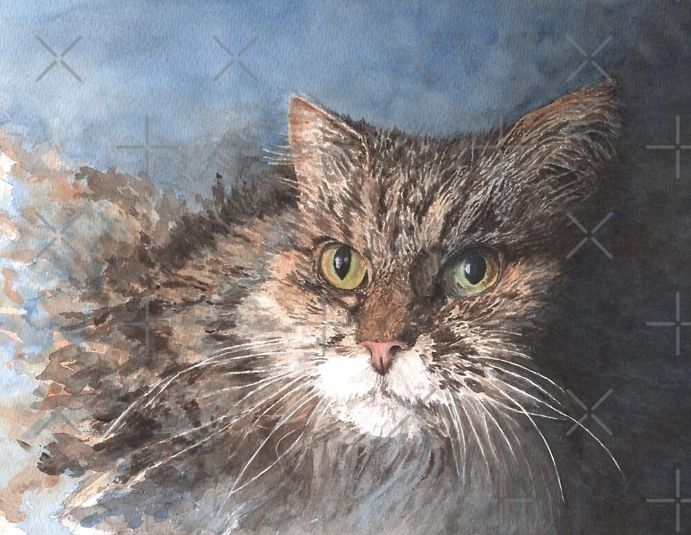 Molly the Tabby Cat by MotiBlack