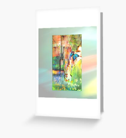 Butterfly Beatitudes Greeting Card