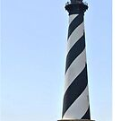 Hatteras Lighthouse (color) by Robin Black