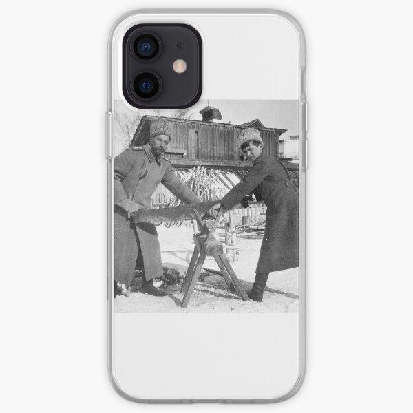 tsar nicholas ii + tsarevich alexei nikolaevich iPhone Soft Case