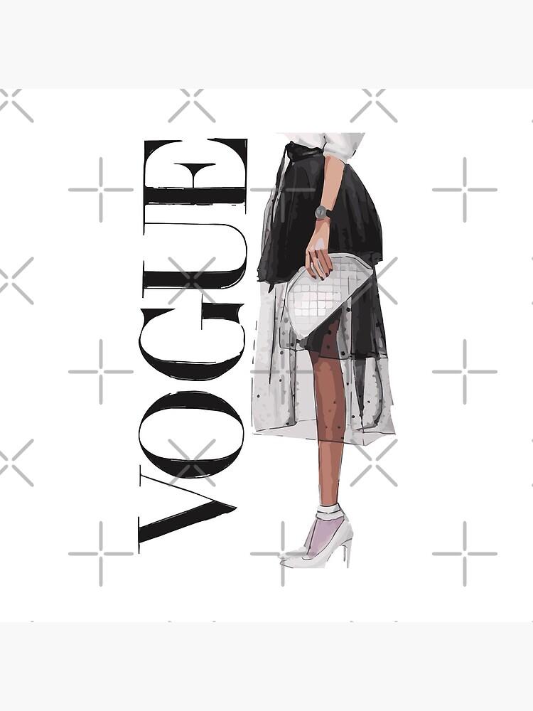 Vogue fashion magazine poster by apoorvpatel