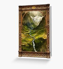 The Ring is taken to Rivendell Greeting Card