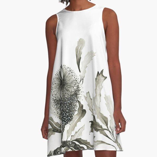 Shades of grey A-Line Dress