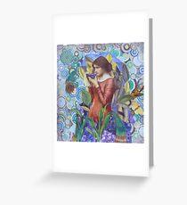 Frida's Garden Greeting Card