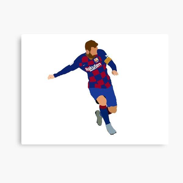 Messi Impression sur toile