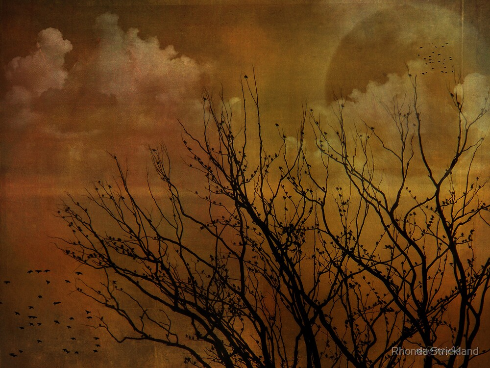 At End of Day by Rhonda Strickland