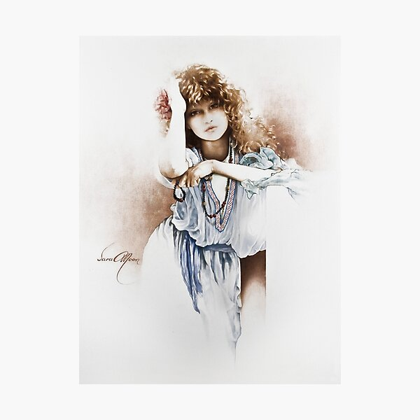 Lovely Hippy Photographic Print