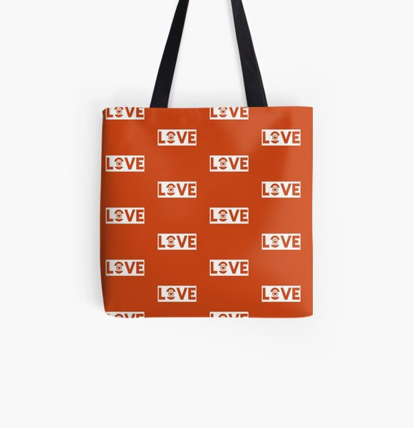 Love Camera All Over Print Tote Bag