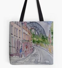 Sydney: Christmas in The Rocks. 2011© Tote Bag