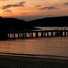 Sunset, Quarantine Station, Sydney Harbour by Collymack