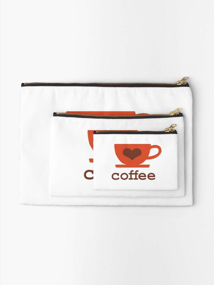 Alternate view of Coffee Lovers Zipper Pouch