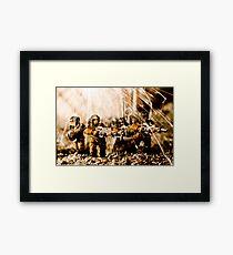 Modern Battle Field Framed Print