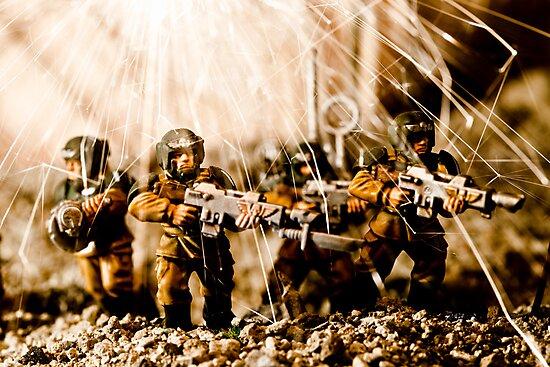 Modern Battle Field by Marc Garrido Clotet