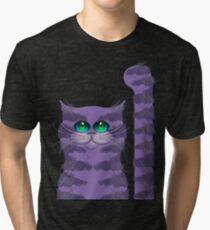 CARLOS THE CAT Tri-blend T-Shirt