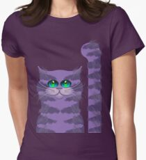 CARLOS THE CAT Women's Fitted T-Shirt