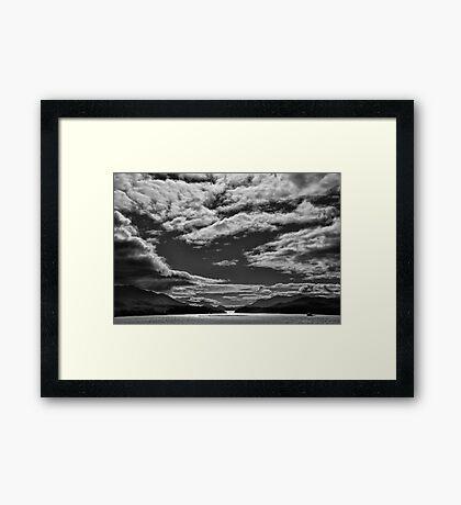 Chilean Fiords 1 Framed Print