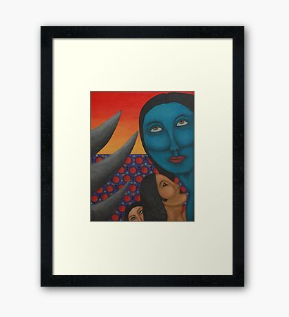 Inaccessible Framed Print