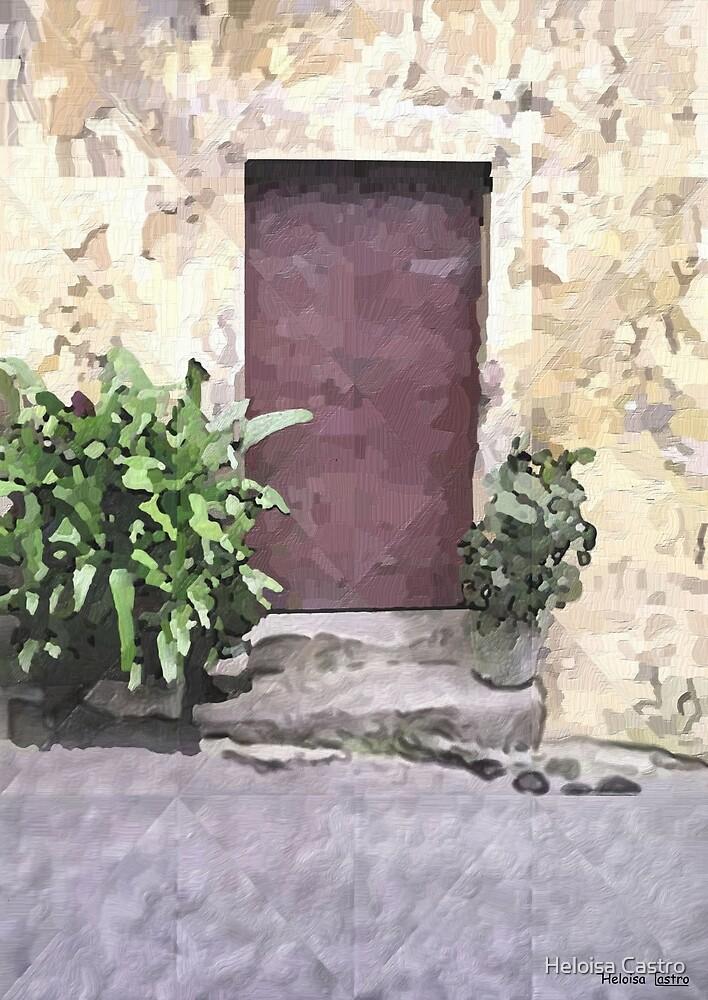 HC 25 Door by Heloisa Castro