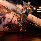 WW1, aircraft diorama by bazcelt