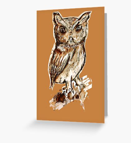 I am the Owl Greeting Card