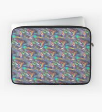 silver holographic Laptop Sleeve