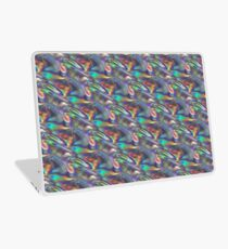 silver holographic Laptop Skin