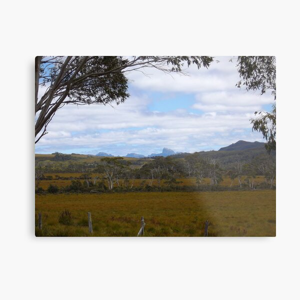 Frenchmans Cap - in the distance Metal Print