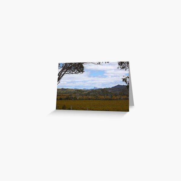 Frenchmans Cap - in the distance Greeting Card